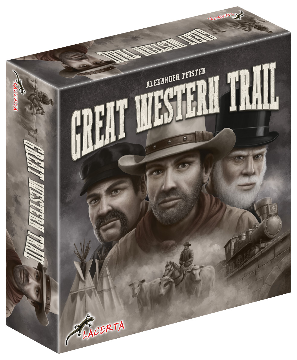 great western trail 3d